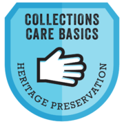 Collections Care Basic Badge