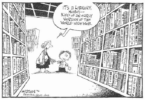 Library Cartoon 1